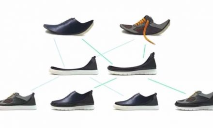 modular shoes can be transformed to fit any occasion.