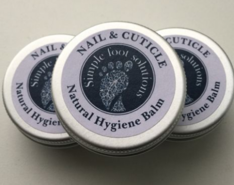 Simple Foot Solutions Natural Hygiene balm